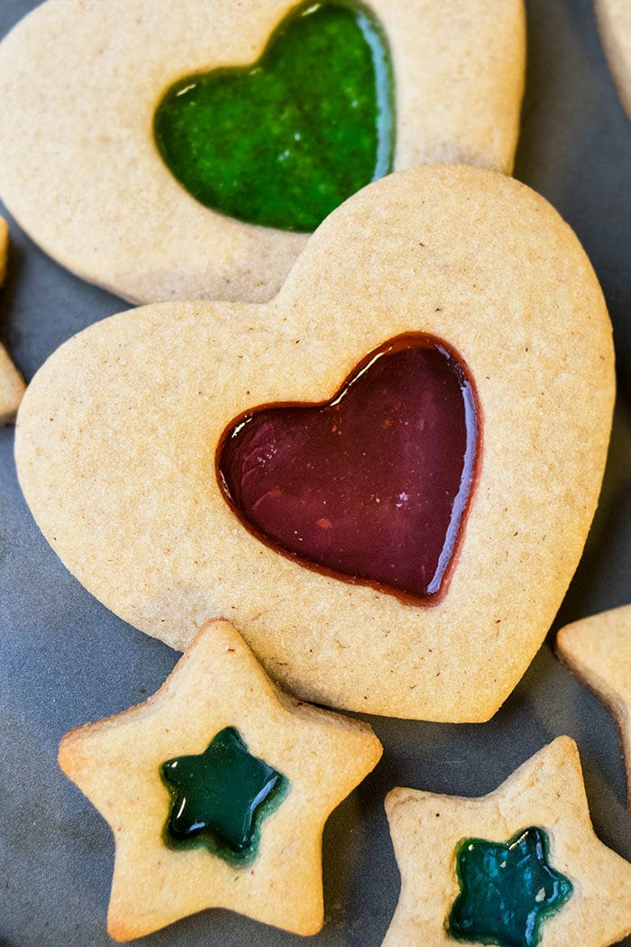 Classic Stained Glass Window Cookies Recipe