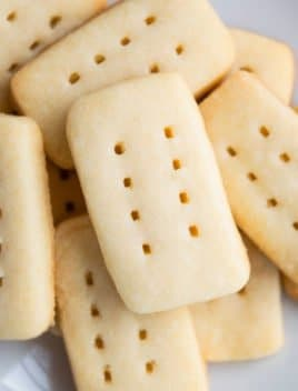 Easy Shortbread Cookies Recipe