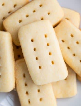 Easy Shortbread Cookies Recipe