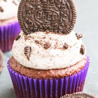 Easy Oreo Cupcakes Recipe With Cake Mix