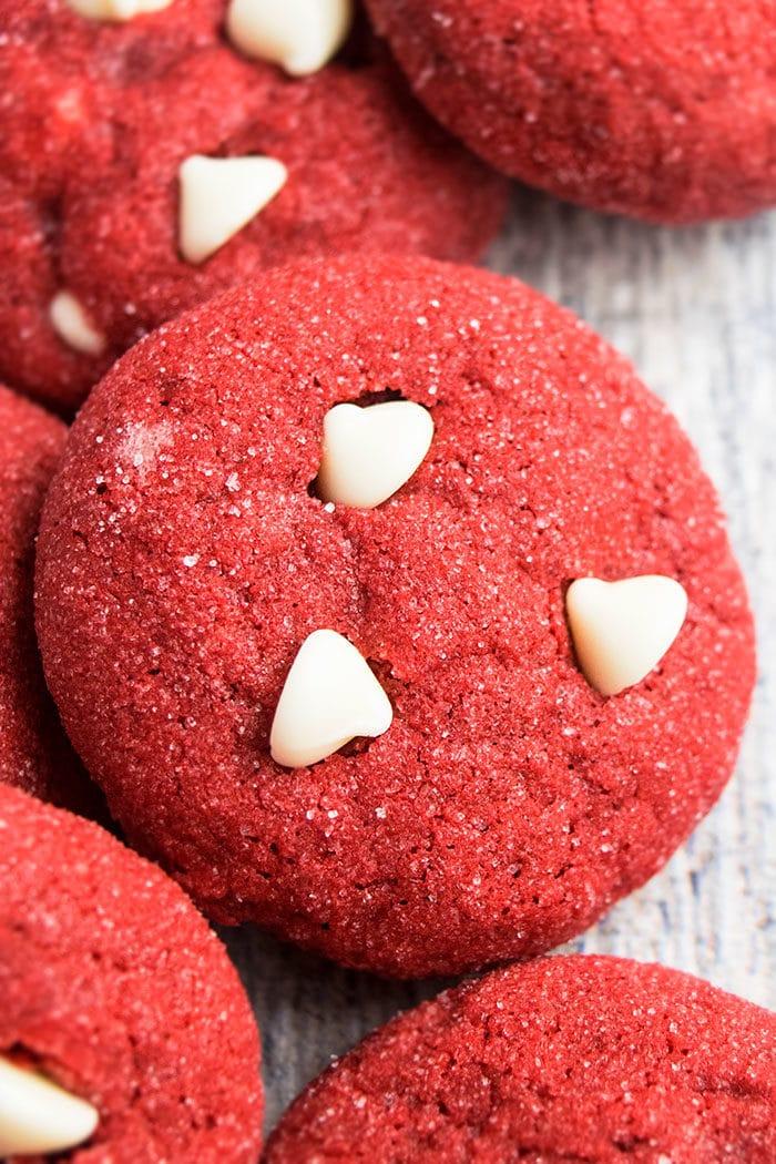 Easy Red Velvet Cookies Recipe