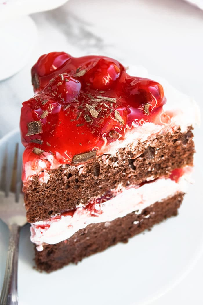 Black Forest Cherry Cake Recipe