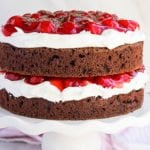 Easy Black Forest Cake Recipe With Cake Mix