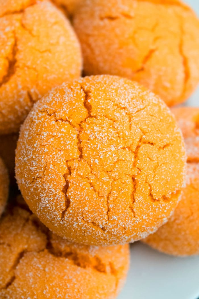 Easy Orange Cookies Recipe