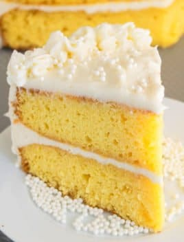 Best Vanilla Cake Recipe (Soft and Moist)
