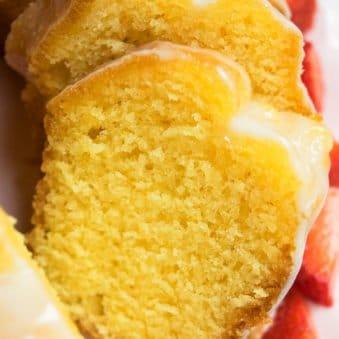 Easy Lemon Bundt Cake Recipe With Cake Mix