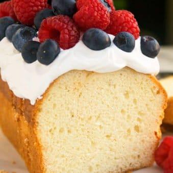 Easy Cream Cheese Pound Cake Recipe