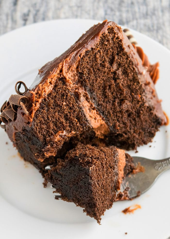Guinness Cake with Chocolate Ganache