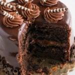 Chocolate Guinness Cake Recipe (With Cake Mix)