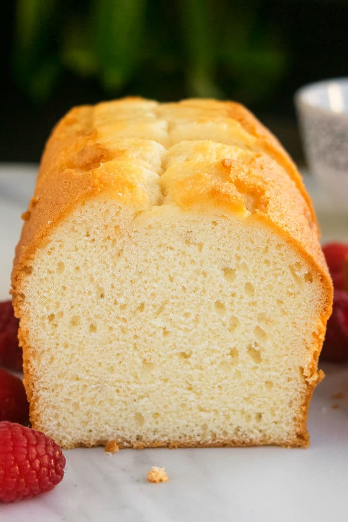 Easy Vanilla Buttermilk Pound Cake Recipe
