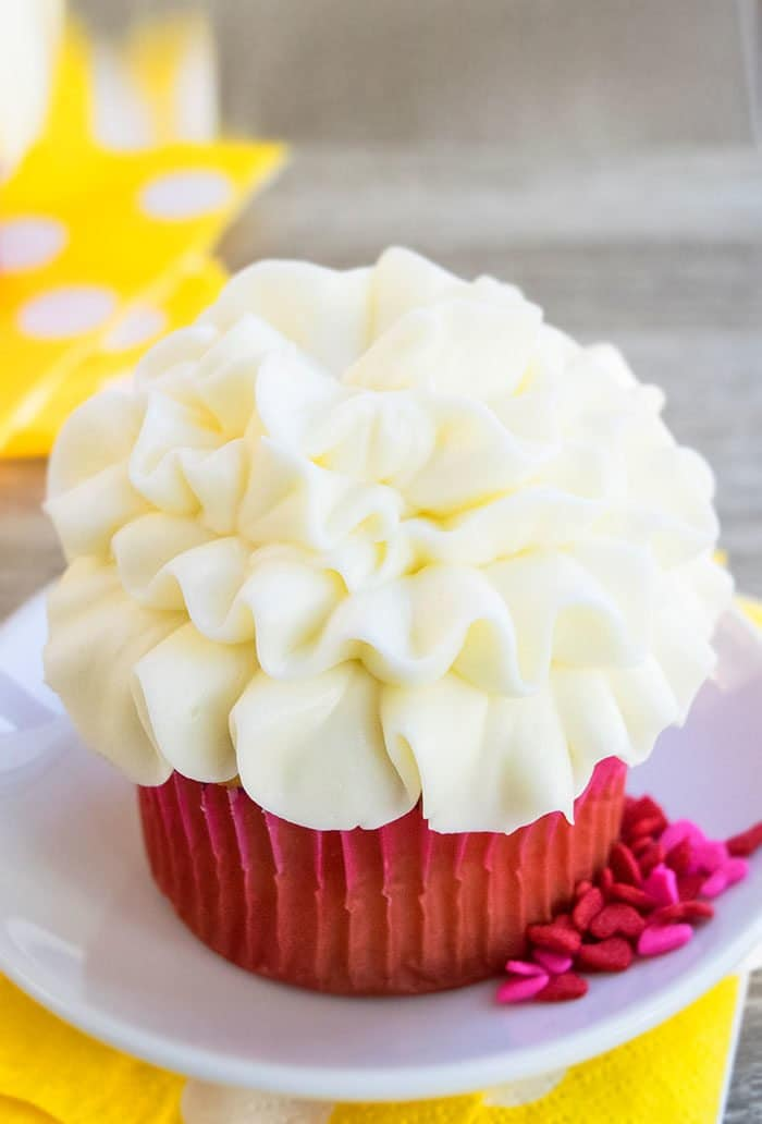 Lemon Cupcake Recipe From Scratch
