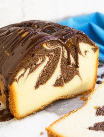 Easy Marble Cake Recipe