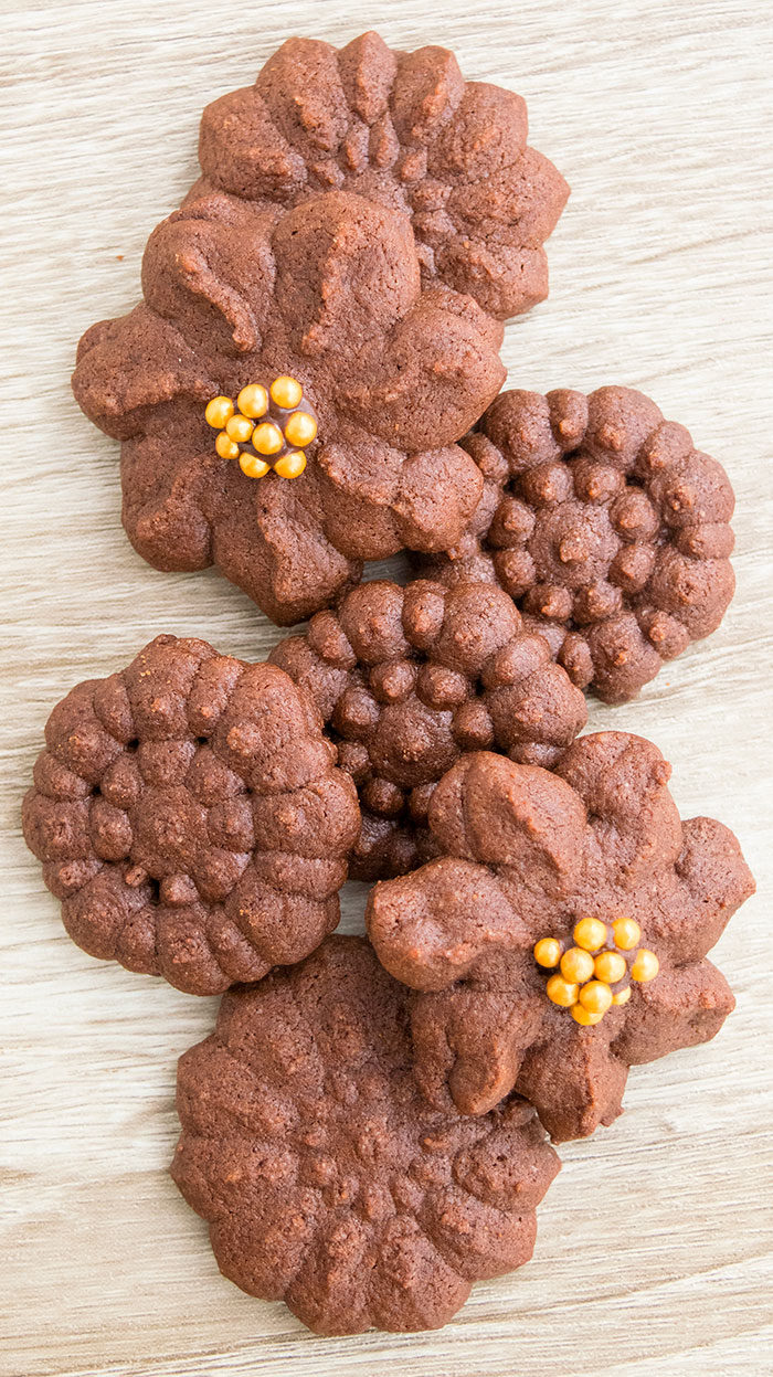 Best Chocolate Spritz Cookies Recipe