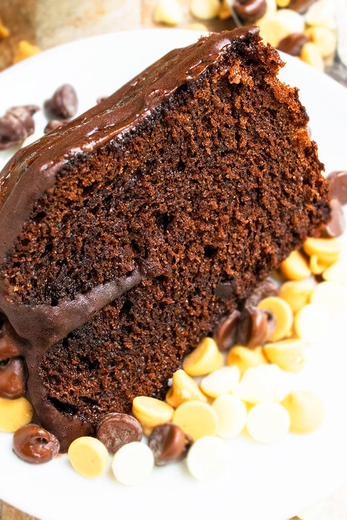 Easy Chocolate Cake Recipe with Coffee Ganache