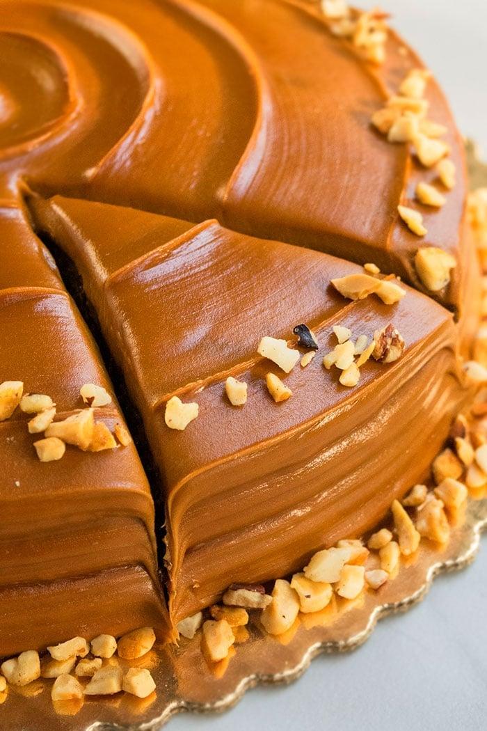 Chocolate Caramel Cake Cakewhiz