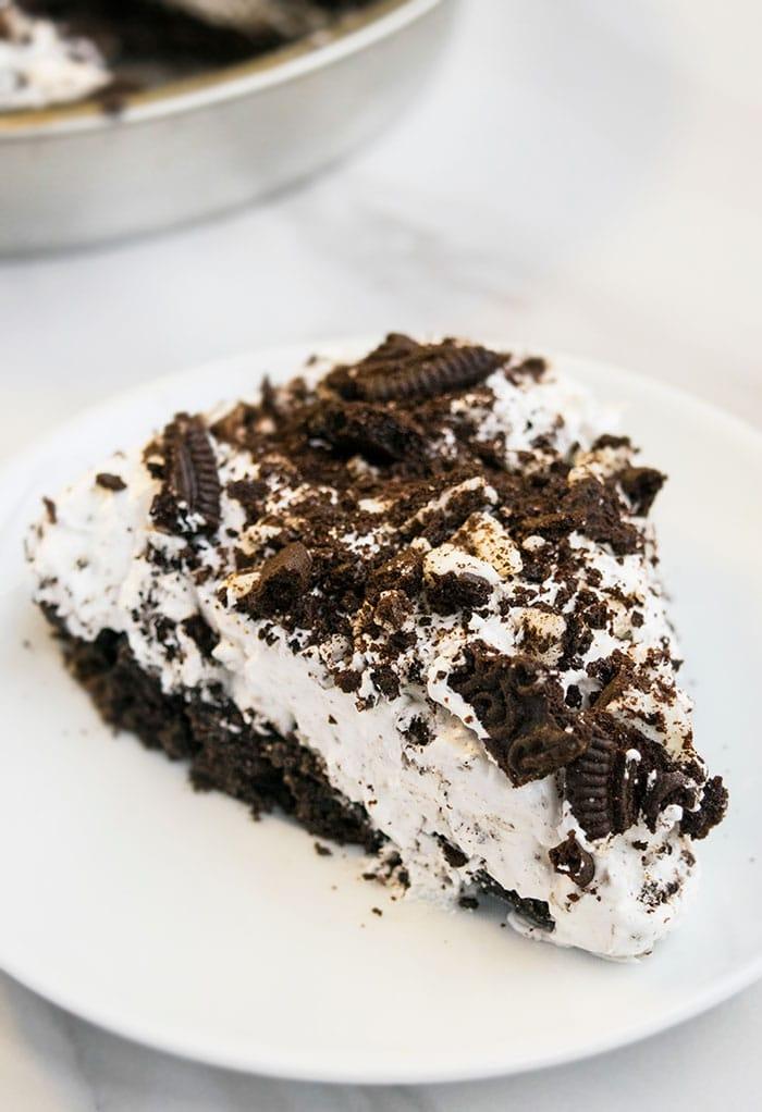 No Bake Oreo Pie Cakewhiz