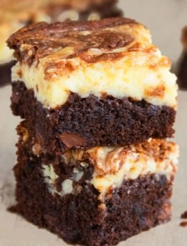Easy Cheesecake Brownies Recipe
