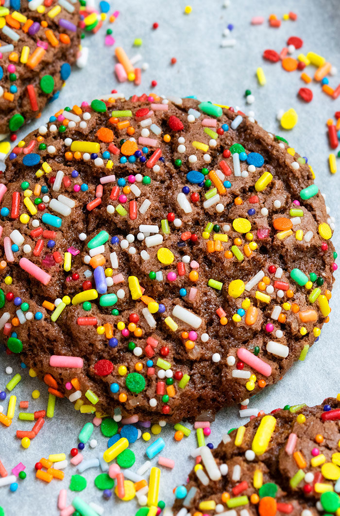 Chocolate Sprinkle Cookie Recipe
