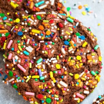 Easy Birthday Sprinkle Cookies Recipe