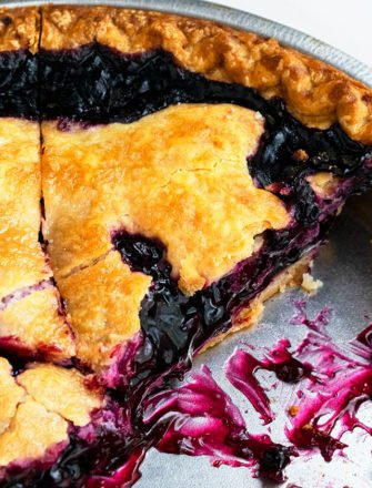 Easy Blueberry Pie Recipe From Scratch