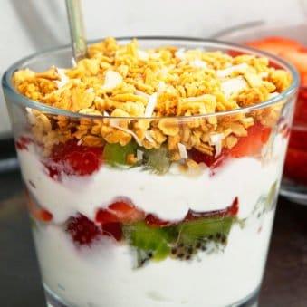 Easy Fruit and Yogurt Parfait Recipe