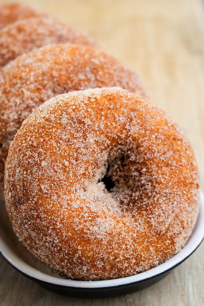 Baked Apple Cider Donuts Recipe