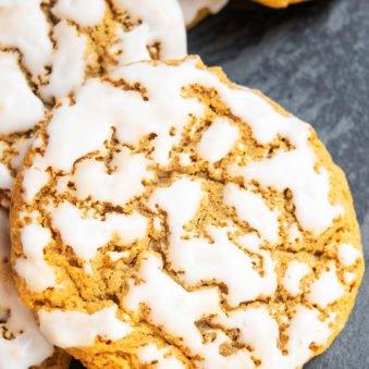 Easy Iced Oatmeal Cookies Recipe