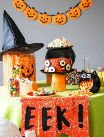 Easy Kids Halloween Party Ideas