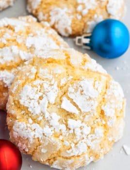 Easy Gooey Butter Cookies Recipe