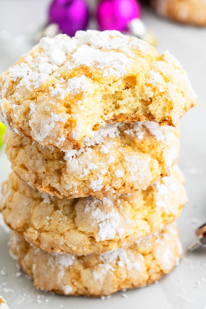 Homemade Butter Cookies With Yellow Cake Mix
