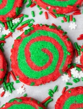 Easy Christmas Pinwheel Cookies Recipe