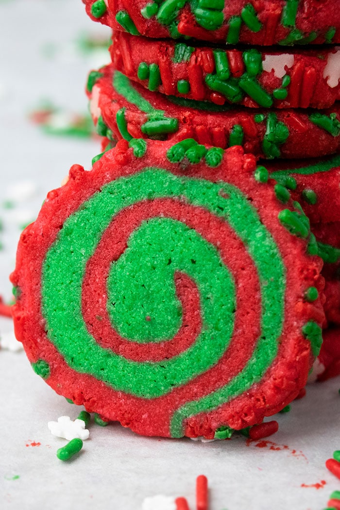 Old Fashioned Pinwheel Cookies