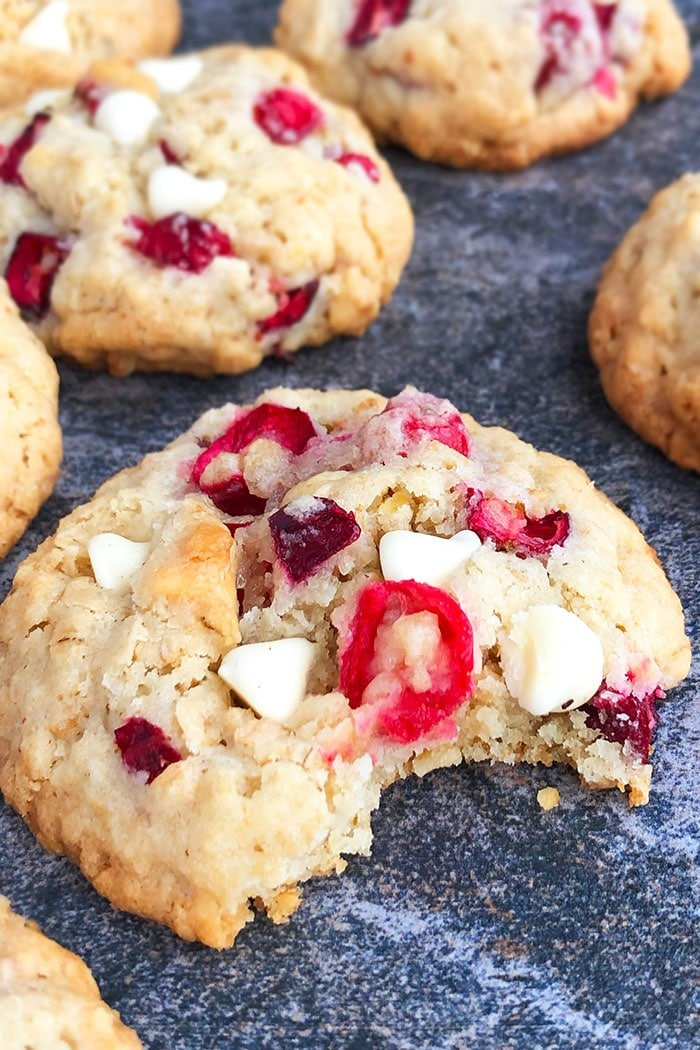 Easy Cranberry Orange Cookies