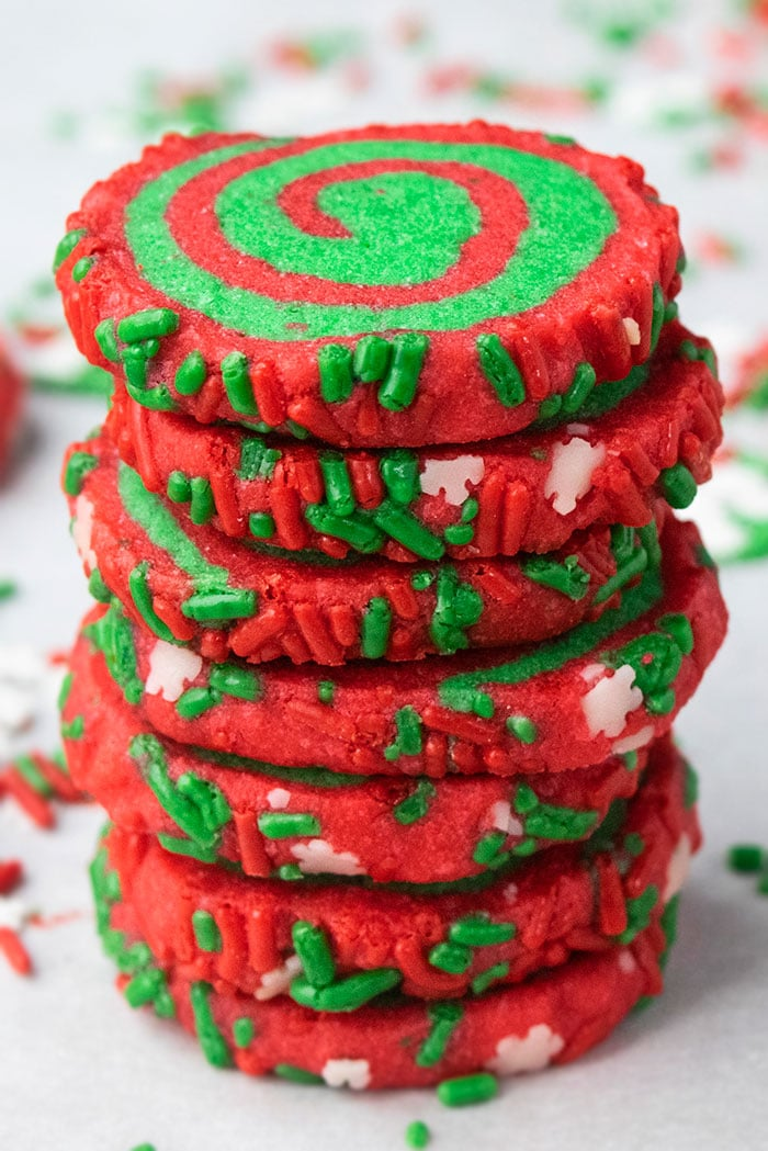 Easy Pinwheel Sugar Cookies
