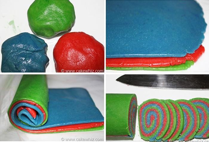 How to Make Pinwheel Cookies