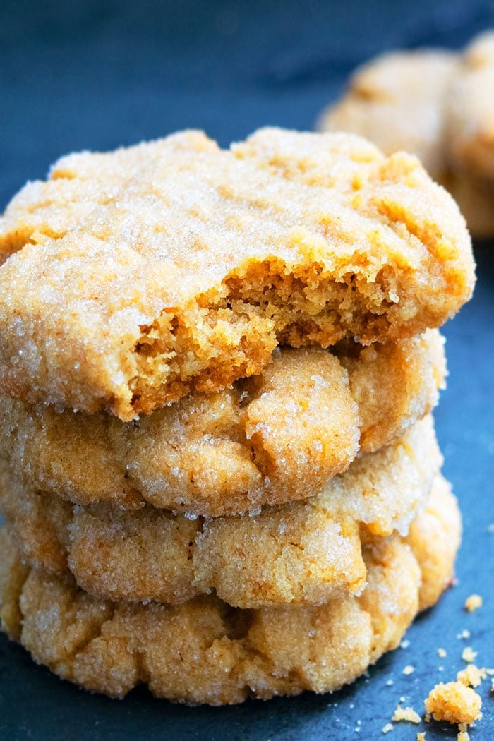 Soft and Chewy Peanut Butter Cookie