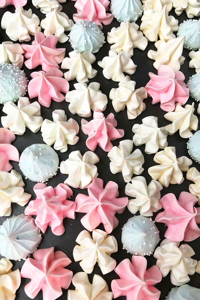 Best Flavored Vanilla Meringue Cookies