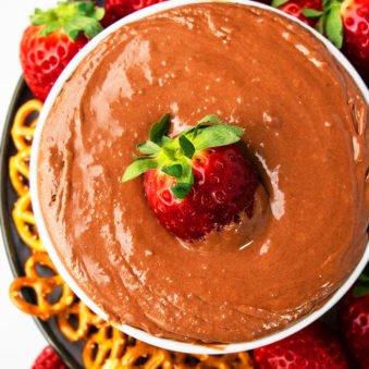 Best Chocolate Fruit Dip Recipe