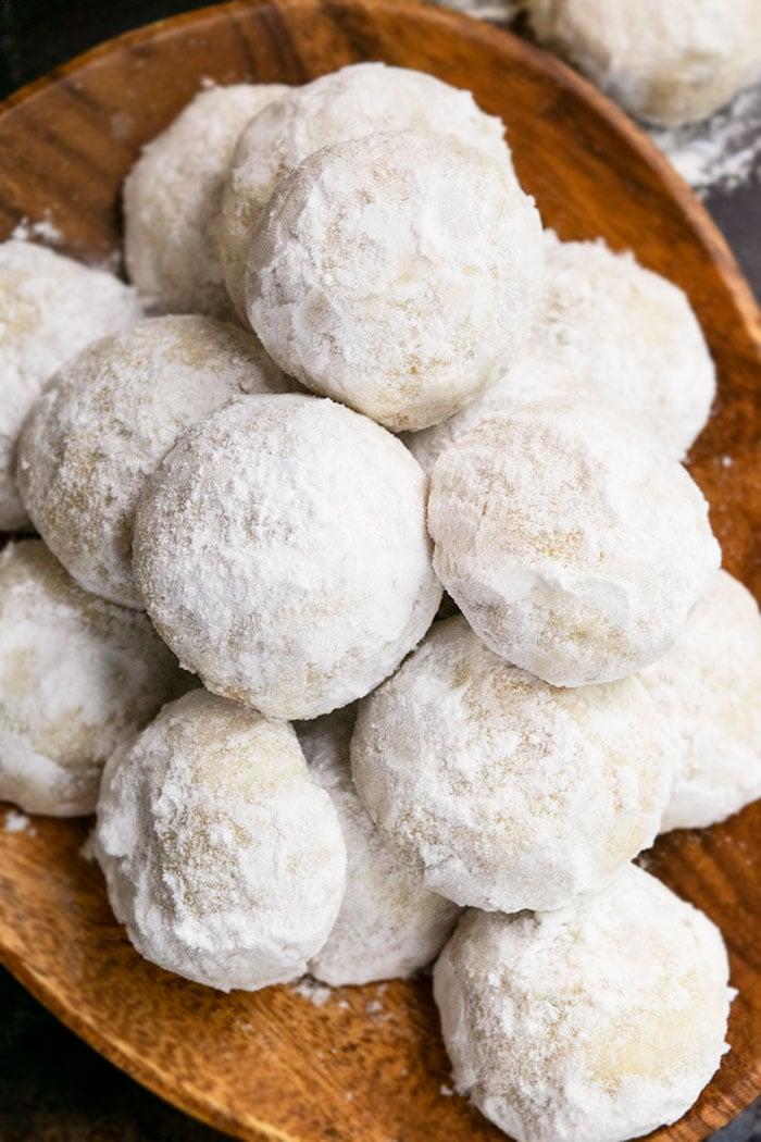 Snowball Cookies Wedding Cookies Cakewhiz