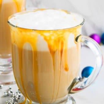 Homemade Caramel Latte Recipe