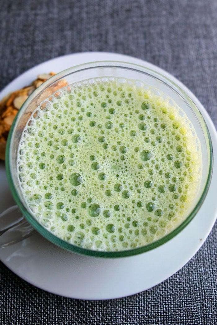 Easy Green Tea Latte