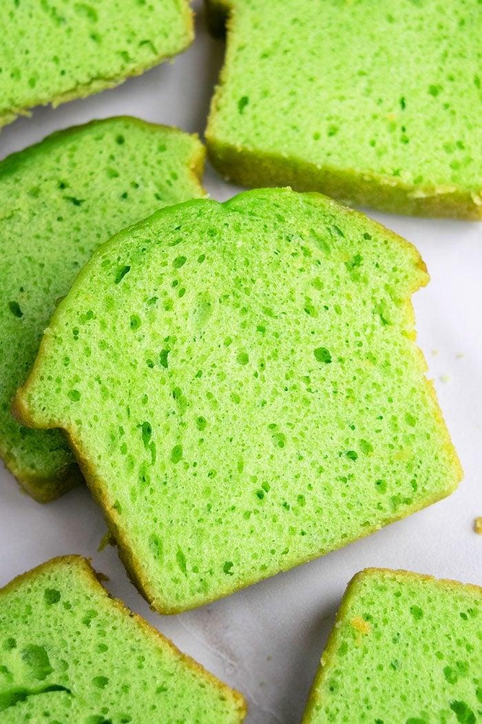 Homemade Key Lime Pound Cake Recipe