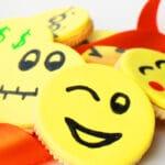 Easy Homemade DIY Emoji Cookies (Emoji Oreos)